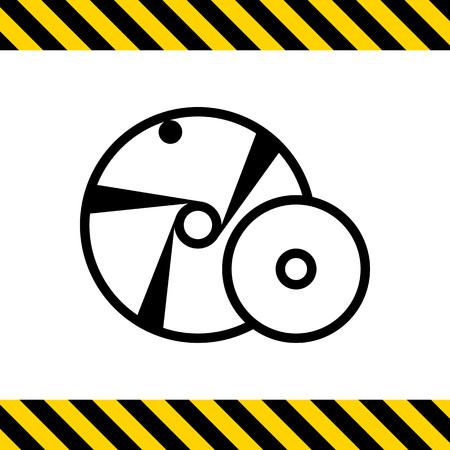grinding: Grinding wheel icon