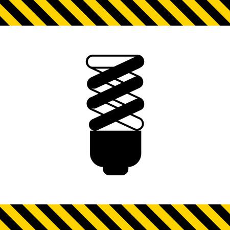 Fluorescent lamp icon