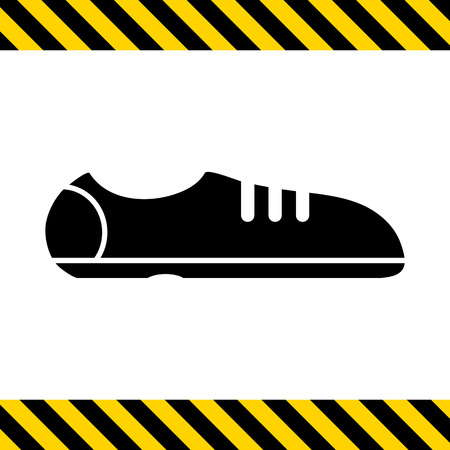 sport shoes: Sport shoes icon Illustration