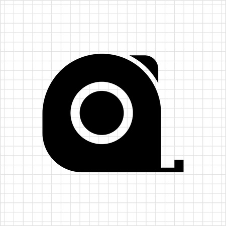 cintas metricas: Icono de la cinta m�trica