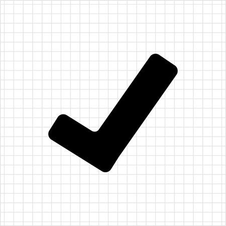 confirm confirmation: Tick icon