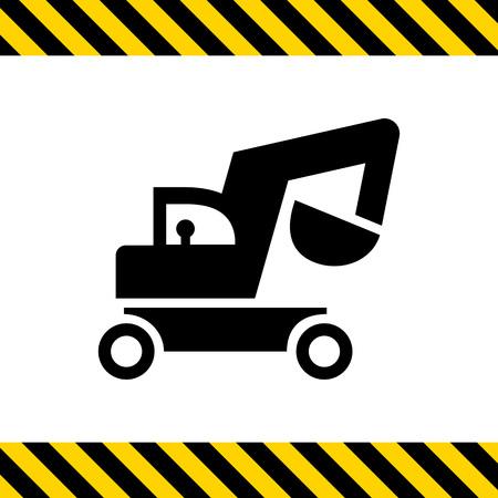 power shovel: Excavator icon