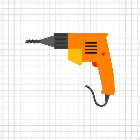 drill: Electric drill icon
