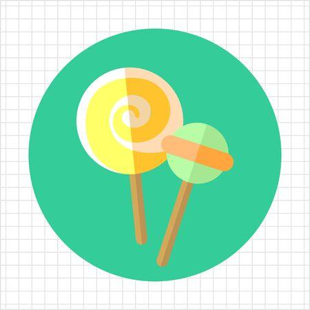 paletas de caramelo: Lollipops icono