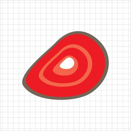 piece: Meat piece icon Illustration