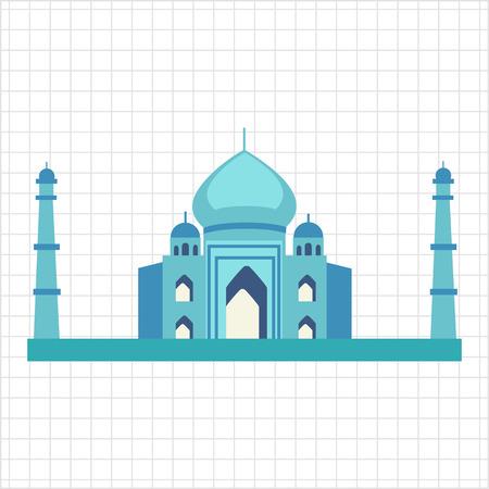 taj mahal: Taj Mahal icon