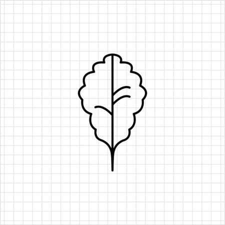 oak leaf: Oak leaf icon