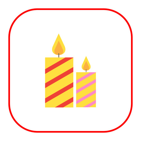 advent candles: Icons of festive candles