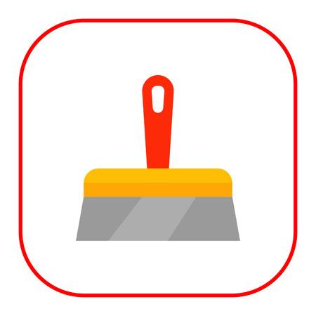 trowel: Plastering trowel icon
