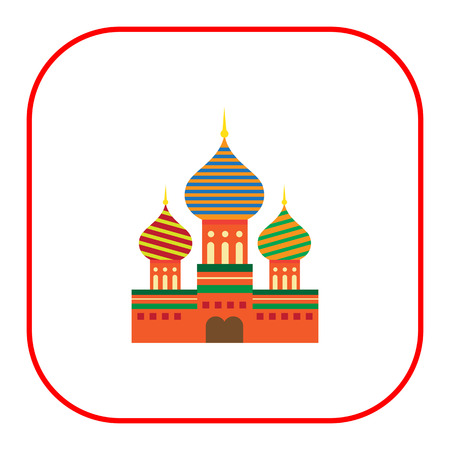 basil: Multicolored icon of Saint Basil Cathedral