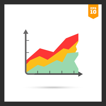 histogram: Icon of color histogram