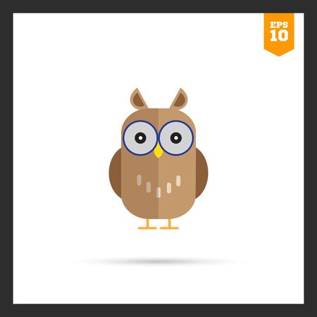ornithology: Owl icon