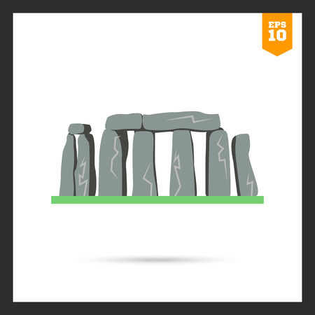 stonehenge: Stonehenge icon Illustration
