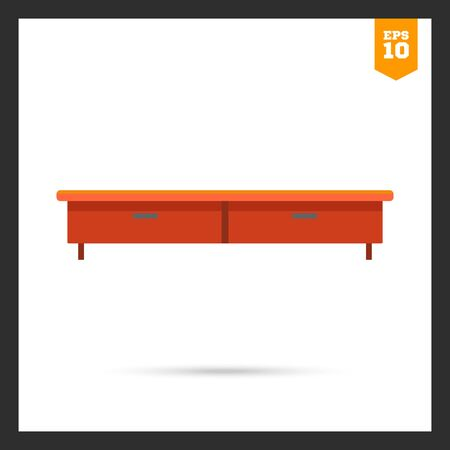 tv stand: Icon of traditional wooden TV stand