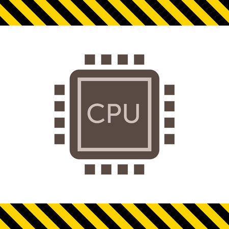 the unit: Icon of central processing unit