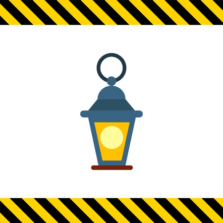 colorful lantern: Icon of decorative lantern