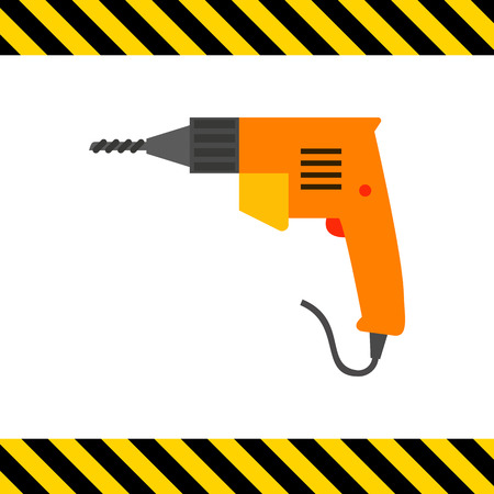 industrial hole: Electric drill icon