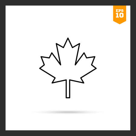 maple leaf icon: Maple leaf icon