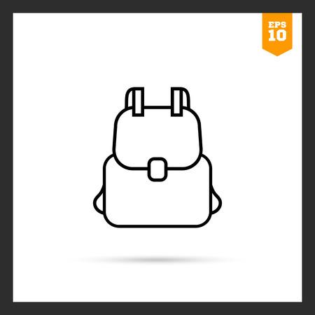 Rucksack-Symbol Vektorgrafik