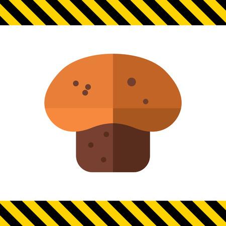 nourishing: Muffin icon Illustration