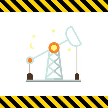 oilfield: Oil rig icon