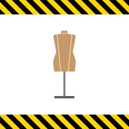 mannequin: Mannequin icon Illustration