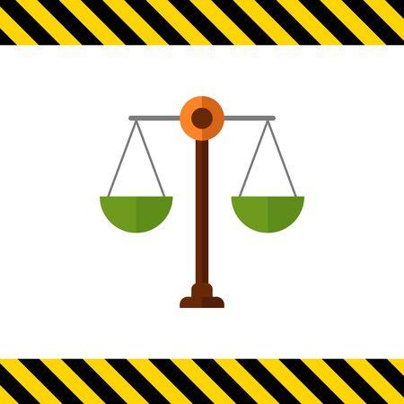 Scales icon Vektorgrafik