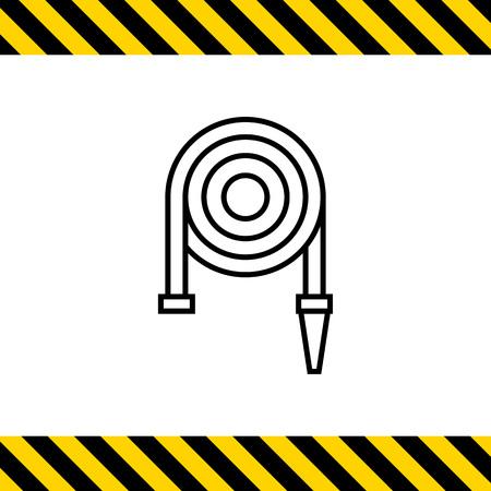 brigade: Icon of fire hose reel