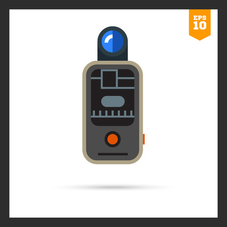 shutter speed: icon of camera remote flash trigger