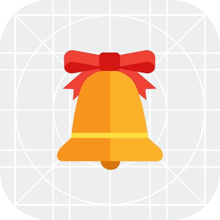 jingling: Icon of bell with red bow