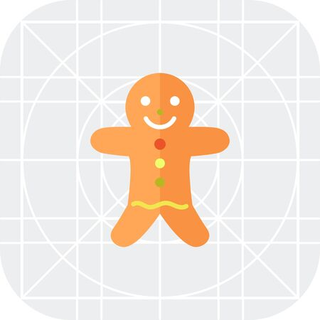 gingerbread: Icon of gingerbread man
