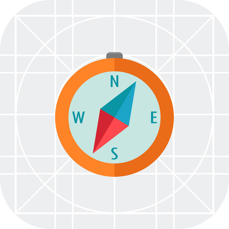 navigating: Compass icon