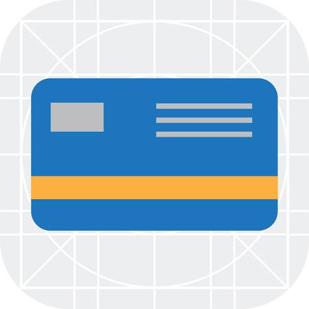 card: Credit card icon Illustration