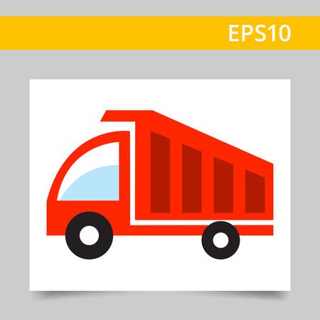 dump body: Dump truck icon