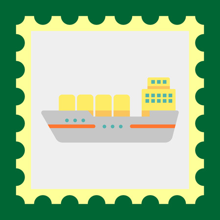water carrier: Cargo ship icon