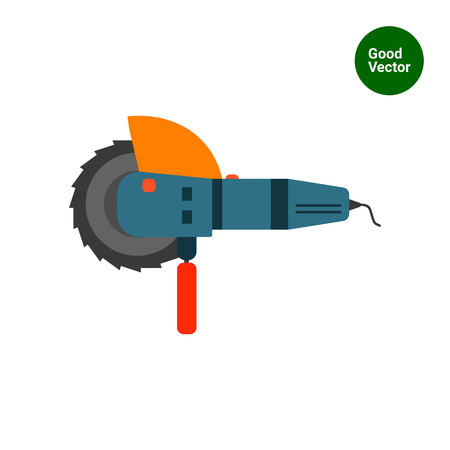 Angle grinder icon