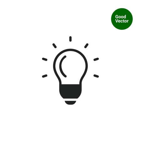 eureka: Glowing bulb icon