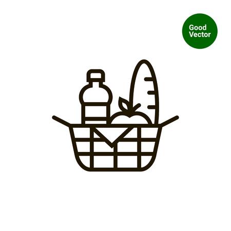 food basket: Picnic basket icon