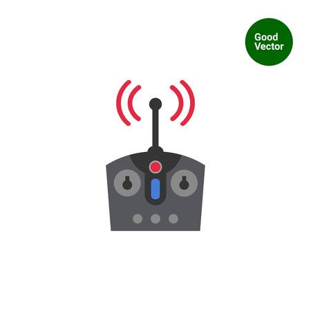 remote control: Icon of radio remote control