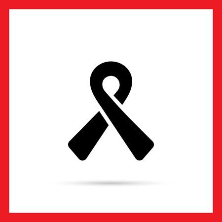 awareness ribbon: Awareness ribbon icon