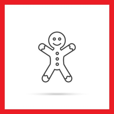 gingerbread man: Icon of gingerbread man