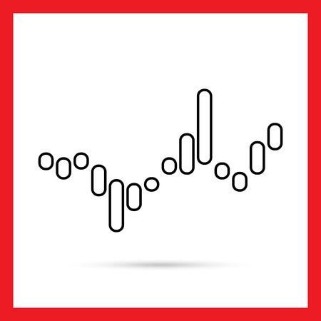 histogram: Histogram icon