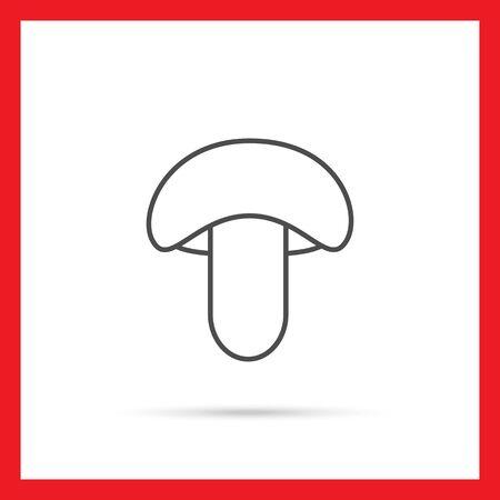 stipe: Mushroom icon Illustration