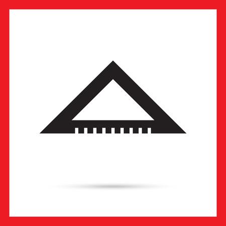 set square: Set square icon