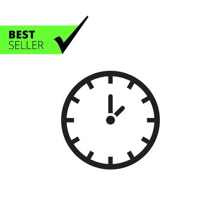 Clock icon  イラスト・ベクター素材