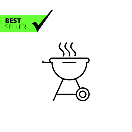 charcoal grill: Charcoal grill icon