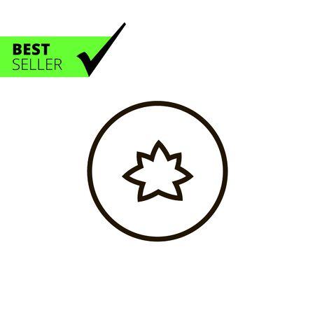 cucumber: Icon of cut cucumber