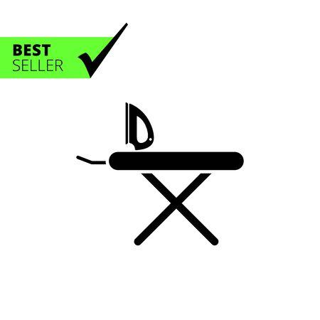 Icon von Bügeleisen und Bügelbrett