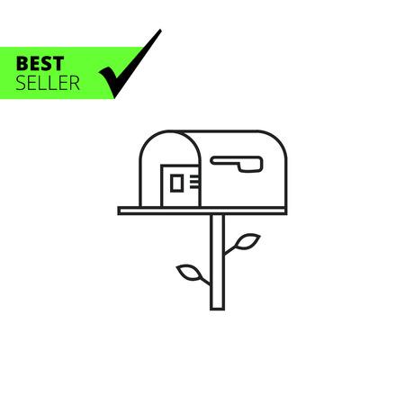 Ikona Mailbox Ilustracje wektorowe