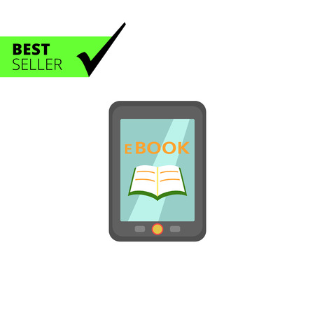 electronic book: Icon of electronic book